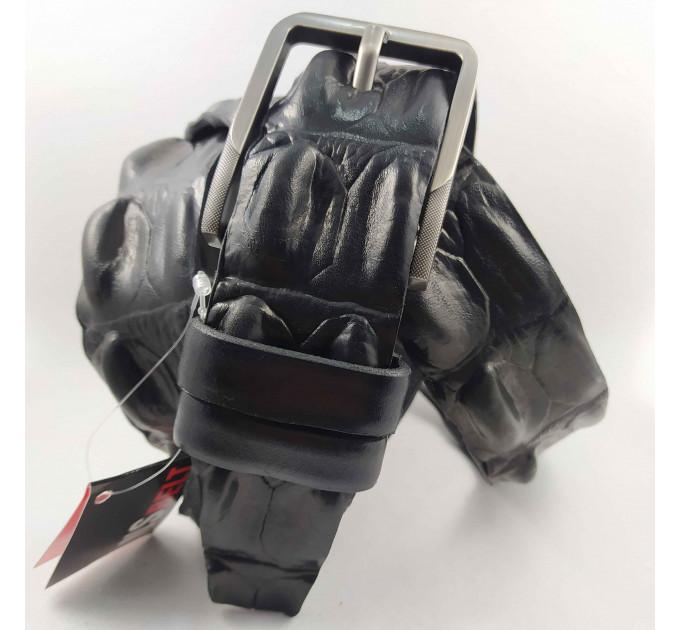 Мужской ремень джинсовый New Style C40-088 черный