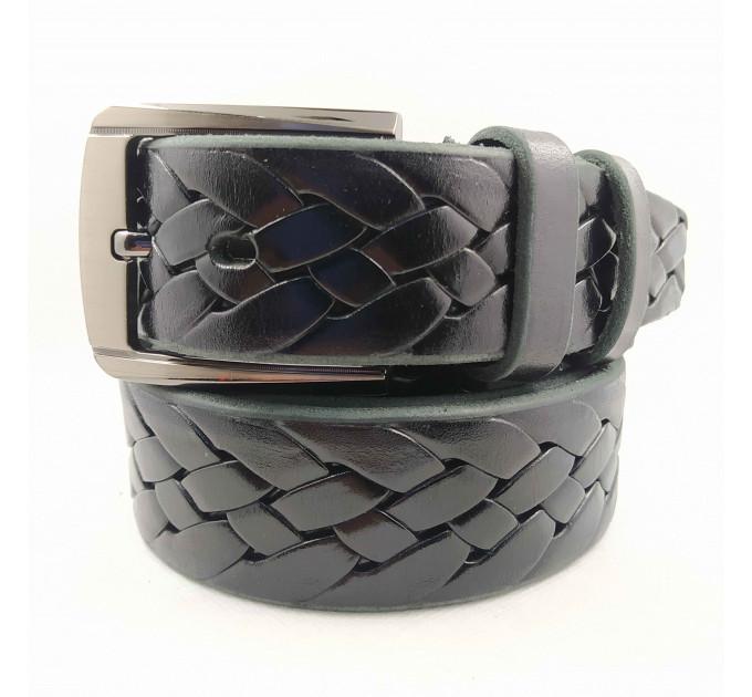 Мужской ремень джинсовый Boro Boro C40-046 черный