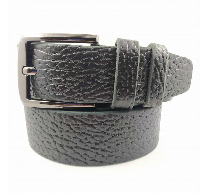 Мужской ремень джинсовый Boro Boro C40-047 черный
