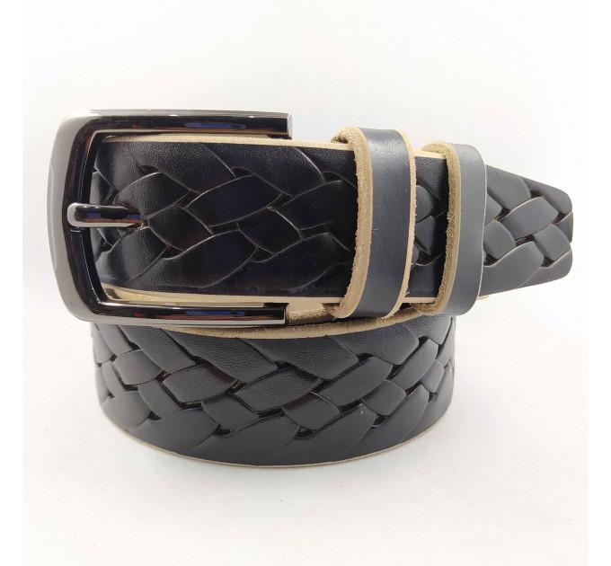 Мужской ремень джинсовый Boro Boro C40-048 черный
