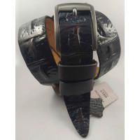 Мужской ремень джинсовый BELT PREMIUM С40-083 темно-коричневый