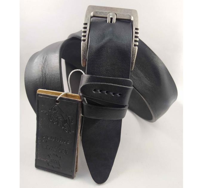 Мужской ремень джинсовый DNKA С40-109 черный