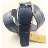 Мужской ремень джинсовый Mr.Belt C40-118 синий