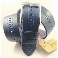 Мужской ремень джинсовый Mr.Belt C40-119 синий