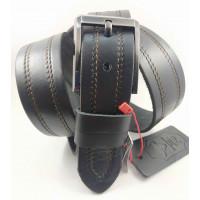 Мужской ремень джинсовый Mr.Belt C40-122 черный