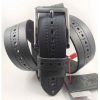 Мужской ремень джинсовый Mr.Belt C40-123 черный