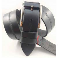 Мужской ремень джинсовый Mr.Belt C40-124 черный