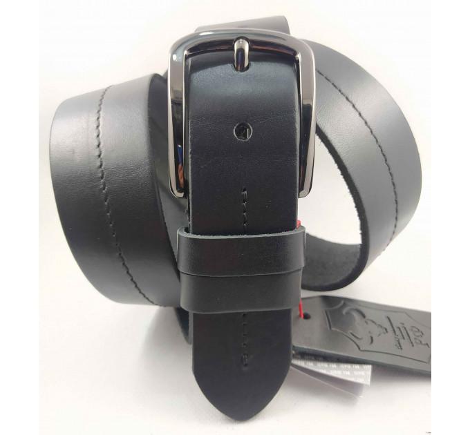 Мужской ремень джинсовый Mr.Belt C40-126 черный