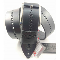 Мужской ремень джинсовый Mr.Belt C40-127 черный