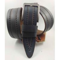 Мужской ремень джинсовый DNKA C40-131 коричневый