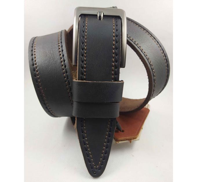 Мужской ремень джинсовый DNKA C40-132 коричневый