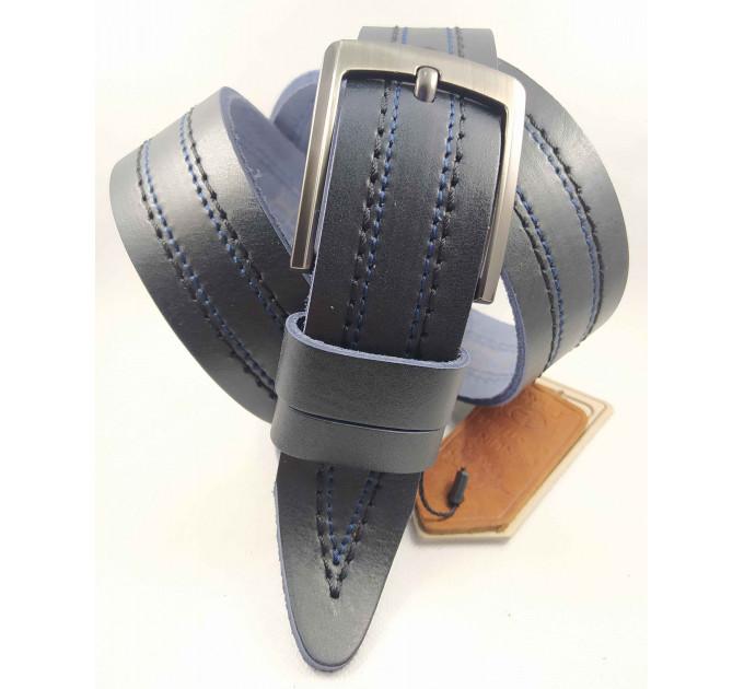 Мужской ремень джинсовый DNKA C40-133 синий
