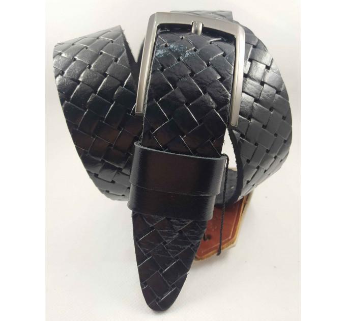 Мужской ремень джинсовый DNKA C40-137 черный