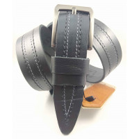 Мужской ремень джинсовый DNKA C40-138 черный