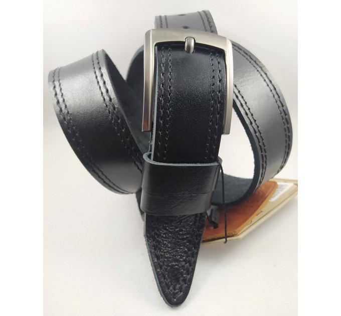 Мужской ремень джинсовый DNKA C40-139 черный