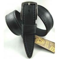 Мужской ремень джинсовый DNKA С40-140 черный
