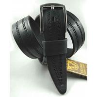 Мужской ремень джинсовый DNKA С40-141 черный
