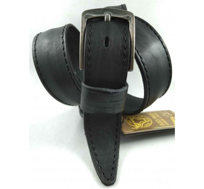 Мужской ремень джинсовый DNKA С40-144 черный