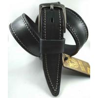 Мужской ремень джинсовый DNKA С40-146 черный
