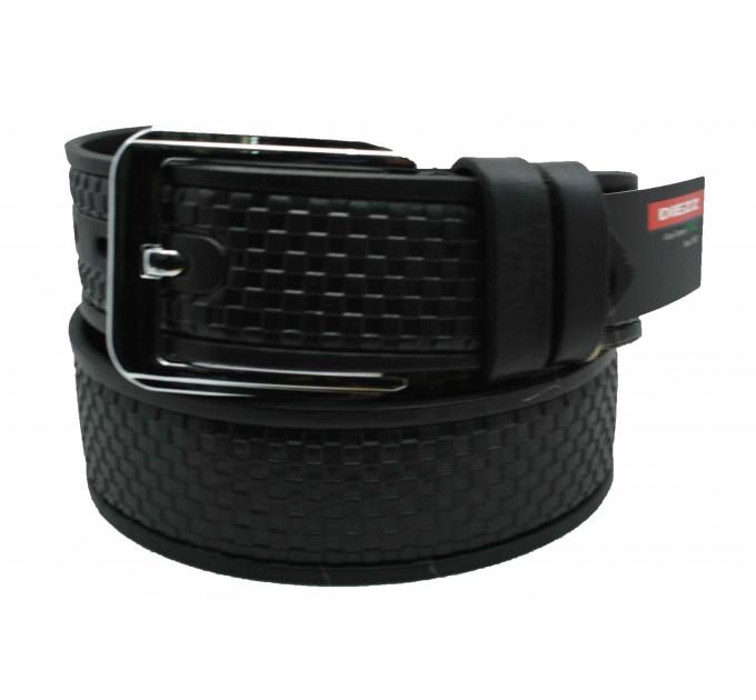 Мужской ремень для джинсов C40-025 черный