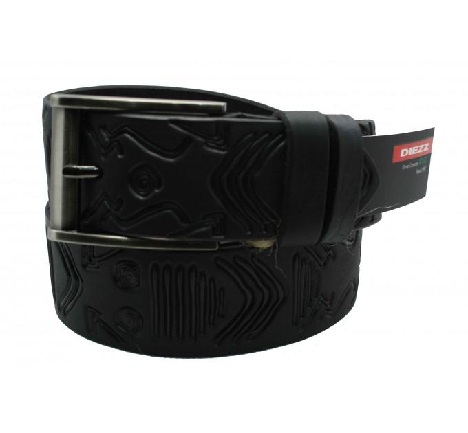 Мужской ремень для джинсов C40-026 черный