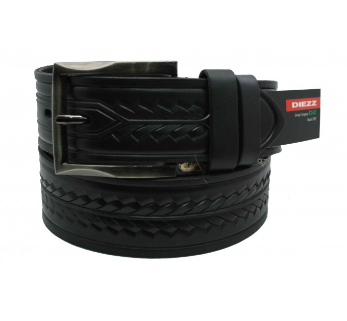 Мужской ремень для джинсов C40-029 черный