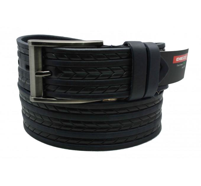 Мужской ремень для джинсов C40-032 черный