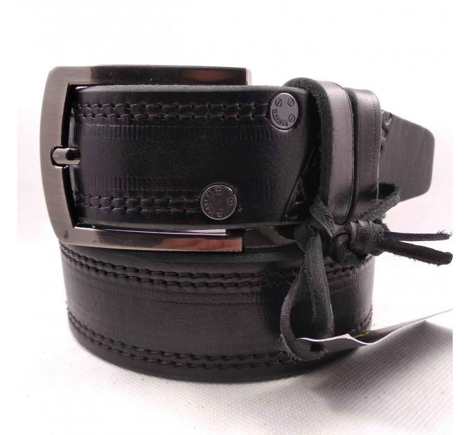 Мужской ремень для джинсов C40-033 черный