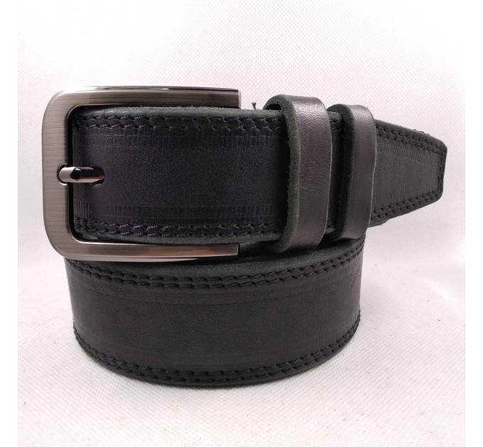 Мужской ремень для джинсов C40-034 черный