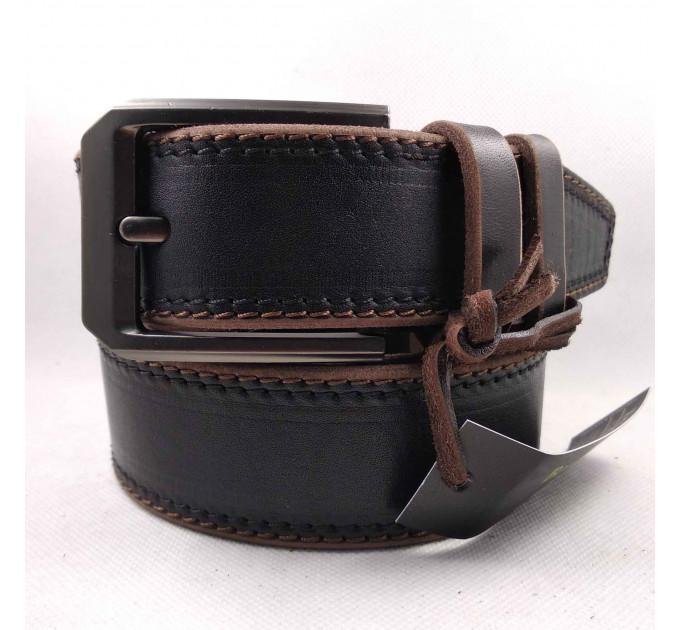 Мужской ремень для джинсов C40-036 коричневый