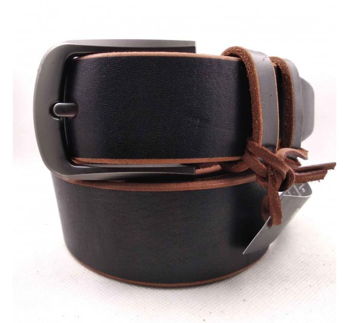 Мужской ремень для джинсов C40-037 коричневый