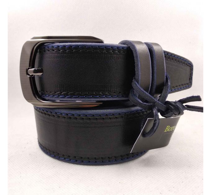 Мужской ремень для джинсов C40-040 черный