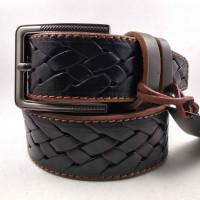Мужской ремень для джинсов C40-041 коричневый
