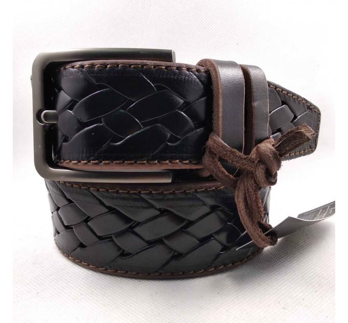 Мужской ремень для джинсов C40-043 коричневый