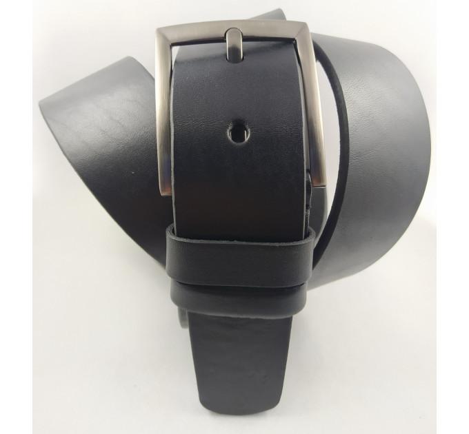 Мужской ремень джинсовый Oscar C45-020 черный