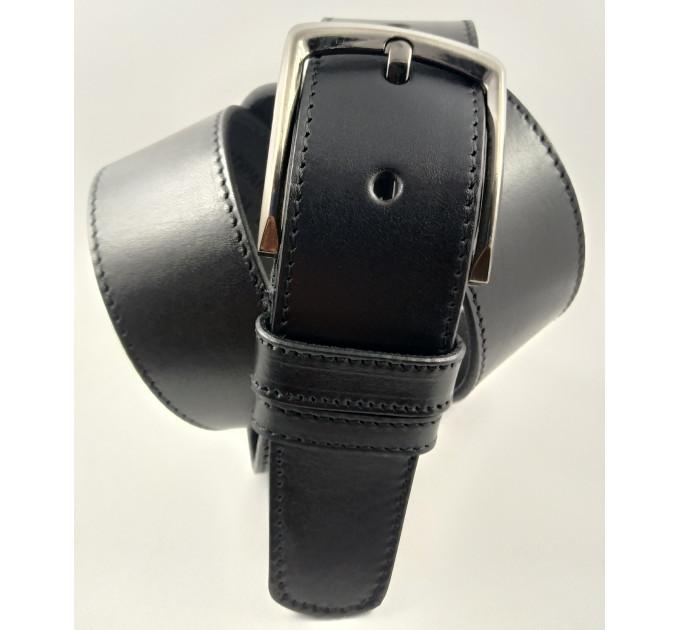 Мужской ремень джинсовый Oscar C45-021 черный