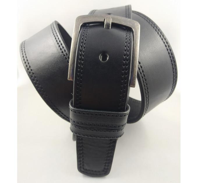 Мужской ремень джинсовый Oscar C45-022 черный