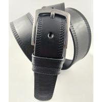 Мужской ремень джинсовый Oscar C45-023 черный