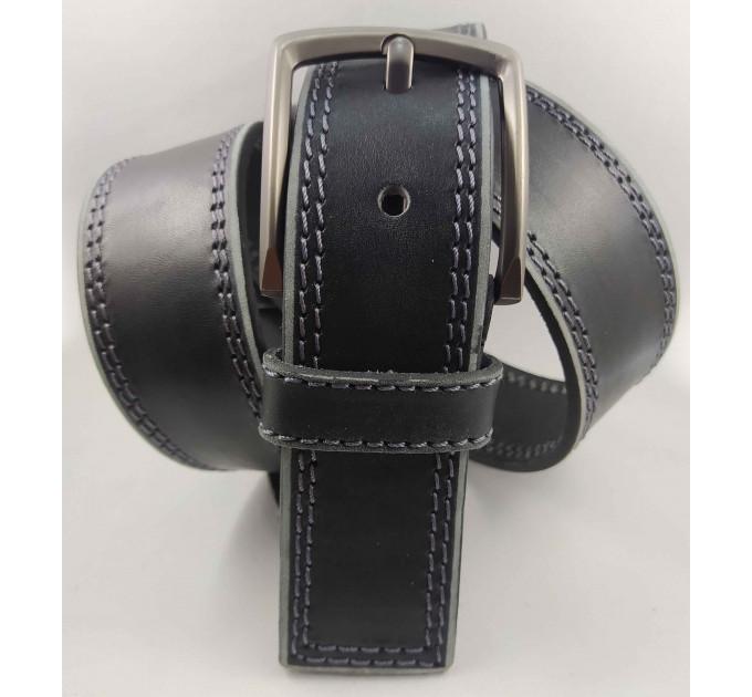 Мужской ремень джинсовый Millennium C45-028 черный