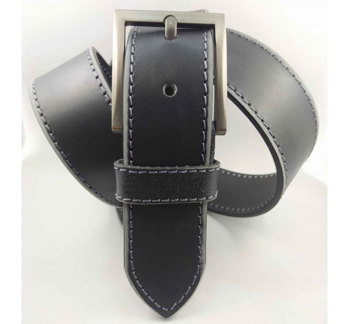Мужской ремень джинсовый Millennium C45-029 черный