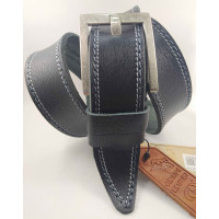 Мужской ремень джинсовый DNKA С45-041 черный