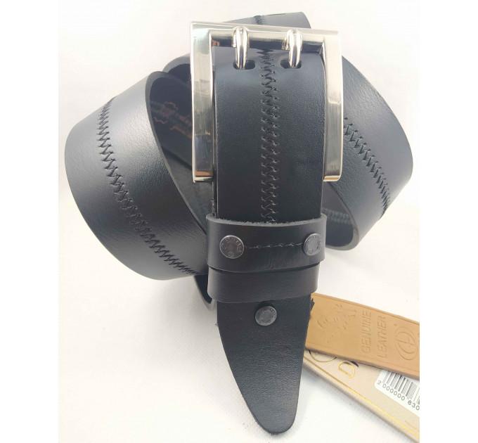 Мужской ремень джинсовый DNKA С45-042 черный