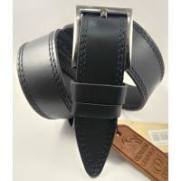 Мужской ремень джинсовый DNKA С45-043 черный