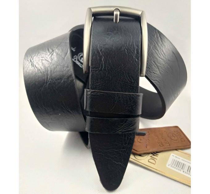 Мужской ремень джинсовый DNKA С45-045 черный