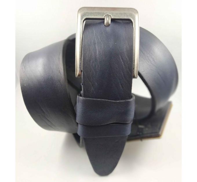 Мужской ремень джинсовый DNKA C45-052 синий