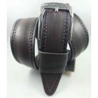 Мужской ремень джинсовый DNKA C45-054 темно-коричневый