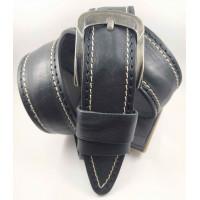 Мужской ремень джинсовый DNKA C45-056 черный
