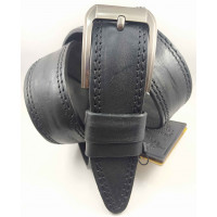 Мужской ремень джинсовый DNKA C45-057 черный