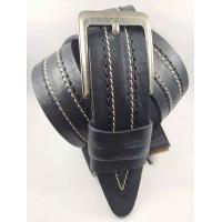 Мужской ремень джинсовый DNKA C45-059 черный
