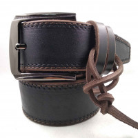 Мужской ремень для джинсов C45-001 коричневый